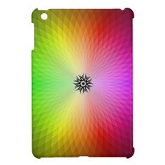Rainbow Wheel ipad mini Case