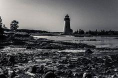 New England Lighthouse  by Lightpimp - akadodjer