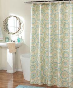 Look at this #zulilyfind! Sea Glass Ringo Shower Curtain by m.style #zulilyfinds