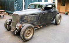Mix Of Old And New: 1934 Ford 5 Window - http://barnfinds.com/mix-old-new-1934-ford-5-window/