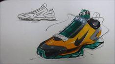 Shoes Sketch & Marker Technique