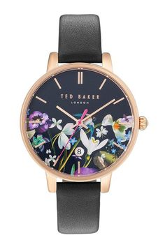 STYLEeGRACE ❤'s this Ted Baker London Kate Round Leather Strap Watch!