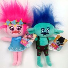 9.59$  Watch now - http://alik6y.shopchina.info/go.php?t=32761485997 - Large Size The Newest Movie Trolls Plush Toy 36CM Poppy Branch Dream Works Stuffed Cartoon Dolls Soft Trolls Toy Christmas Gifts 9.59$ #aliexpressideas