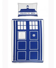 Doctor Who Tardis  - Parure Copripiumino singolo