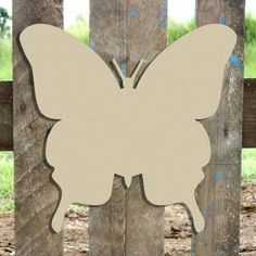 Butterfly Cutout, Wood Butterfly, Butterfly Shape, Butterfly Crafts, Butterfly House, Butterfly Template, Wooden Cutouts, Wooden Shapes, Unfinished Wood Crafts