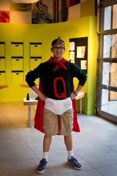 101 Halloween Costumes to Make on the Cheap- Quailman and Patty Mayonnaise for a couple costume!