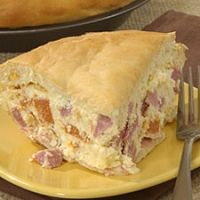 Italian Easter Meat And Cheese Pie Recipe