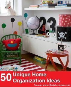 50 Unique Home Organization Ideas