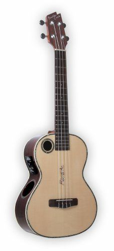 Riptide EUT-2N Tenor Acoustic/Electric Ukulele - Gloss Finish * Check this awesome product by going to the link at the image.