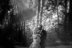 a Stunning photo of the couple into the woods photo by World Elite Photographer Daniel L Meyer (L'Afrique Photography) Photo On Wood, Fine Art, World, Concert, Lace, Artwork, Photography, Wedding, Couple