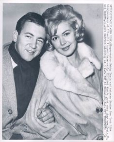 Bobby Darin and Sandra Dee,  loved her movies and the ones they did together.  She was beautiful.