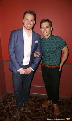 Michael Arden and Andy Mientus @ BroadwayWorld.com