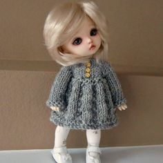 Instant Download PDF Knitting Pattern for Long от myfairdolly
