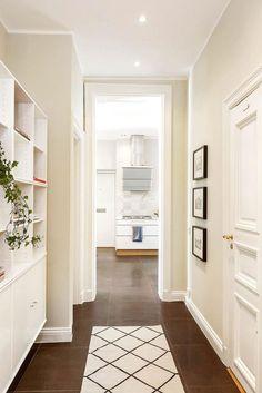 Polgári elegancia skandináv módra - 115nm-es lakás természetes, bézs, barna, szürke árnyalatokkal