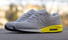 Nike Air Max Light Premium - Grey & Yellow