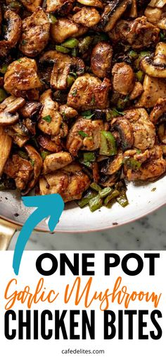 Healthy Low Carb Dinners, Low Carb Dinner Recipes, Clean Eating Recipes, Diet Recipes, Healthy Eating, Cooking Recipes, Healthy Recipes, Healthy Mushroom Recipes, Easy Low Carb Recipes