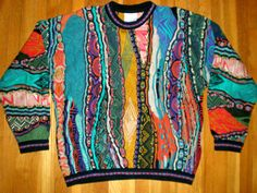 Coogi Cosby sweater on eBay currently at $56.33