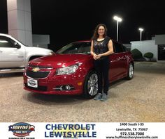 #HappyAnniversary to Maria Diaz on your 2014 #Chevrolet #Cruze from Everyone at Huffines Chevrolet Lewisville!