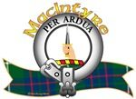 "MacGillivray Clan Tartan and Crest the Motto is ""TOUCH NOT ..."
