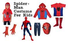"""""""Spider-Man Costume for Kids"""" by kidsntoddler"""
