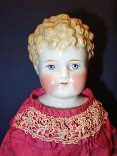 Alt, Beck and Gottschalck German Blond molded hair doll