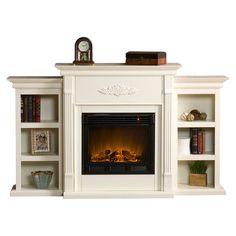 Franklin Electric Fireplace.