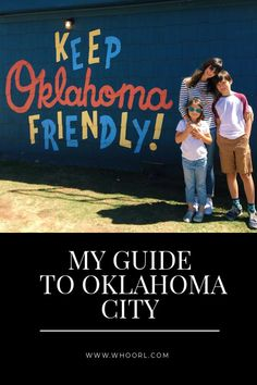 As you will soon see, this guide is really robust, but I wanted to provide tons of options. While OKC is the 8th largest city in terms of land size, we find ourselves spending most of our time in neighborhoods close to the city center. #travel #family