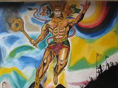 Panchamukha Hanuman at Moti Nagar, Hyderabad