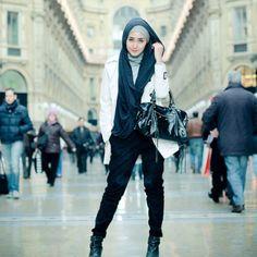 Cool & casual - Dian Pelangi #hijablookbook
