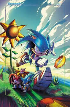 Sonic CD byRob Duenas Website-Tumblr-Facebook