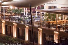 #terrace #architecture #design #outside #SZA #hotel