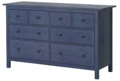 IKEA Fan Favorite: HEMNES 8-drawer dresser. Solid wood with extra roomy and smooth running drawers with pull-out stop make this fan fave a must have in homes around the world.