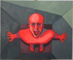 CHACUN SA CASE.... Case Huile sur toile, 54x65 cm Blog, Grinch, Batman, Superhero, Fictional Characters, Art, Oil On Canvas, Art Background, Kunst