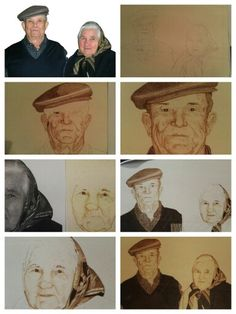 Step by step. Pyrography by giosir. My pyrography.