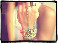 Hand Jewelry! New styles added to my shop! <3