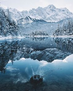 Finally winter is back in Bavaria. Turkey Country, Pictures Of People, Winter Wonder, Winter Landscape, Winter Day, Winter Scenes, Amazing Nature, Beautiful World, Wilderness