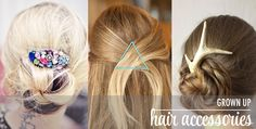 Check out The Chic Site. Love  inspirational blogs! She featured this antler stick in one of her hair accessories post. Thank you so much Rachel!