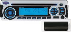 JENSEN MSR3012RTL AM/FM/CD/USB/iPod & SiriusXM Satellite Ready Stereo with Marine Housing