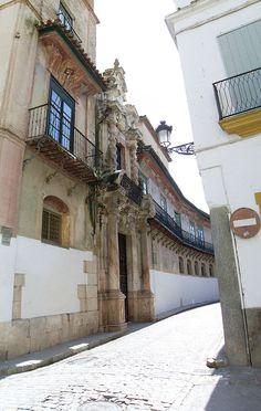 Sevilla Portada Palacio Peñaflor (Écija)