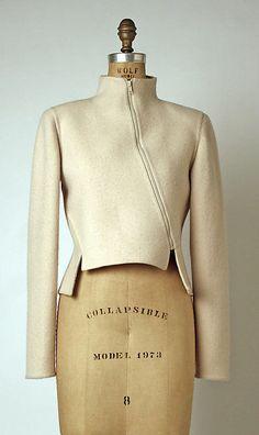 Jacket Geoffrey Beene (American, Date: spring/summer 1 Vintage Outfits, Vintage Fashion, Fashion Details, Fashion Design, Fashion Top, Fashion Outfits, Tailored Jacket, Blazer Jacket, Jackett