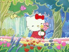 Cartoon Pics, Cute Cartoon, Hello Kitty Cartoon, 4 Wallpaper, Hello Kitty Wallpaper, Sanrio Characters, Photo Wall Collage, New Wall, Cute Icons