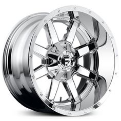 Fuel Maverick D566 PVD Chrome Deep Lip Wheels & Rims