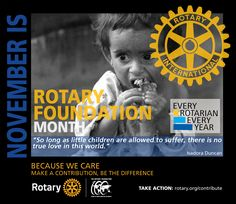 Rotary Foundation Month 2016-2017 - by CMC Rotary Club, Foundation, Children, Young Children, Boys, Kids, Foundation Series, Child, Kids Part
