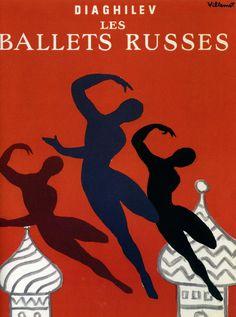 1979 les ballets russes, Bernard Villemot