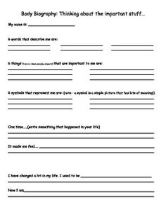 Biography Timeline  Timeline And Worksheets