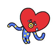 Tata phiên bản bạch tuộc 2 tua Bt 21, Phan, Bts Chibi, Gifs, K Pop, Bts Fans, I Love Bts, Bts Group, Bts Members