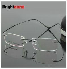 Bestseller lightest flexible BN rimless non-screw beta pure titanium eyeglasses frame brand optical spectacle frame glasses Titanium Eyeglass Frames, Mens Glasses Frames, Glasses Brands, Best Sellers, Eyeglasses, Eyewear, Pure Products, November 3, Accessories