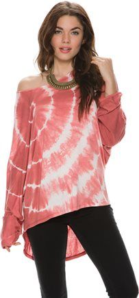 SWELL SASHA LS TIE DYE TOP. http://www.swell.com/Womens