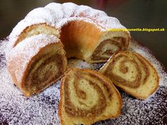 orechova kysnuta babovka from… Bread Ingredients, Bunt Cakes, Sweet Cakes, Desert Recipes, Baked Goods, Brunch, Food And Drink, Cooking Recipes, Yummy Food