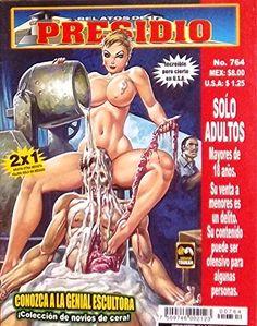 """Mexican True Crime Comic Series """"Relatos de Presidio"""" #764 - """"Conozca a la genial escultura y sus novios de cera"""" by Editorial Toukan http://www.amazon.com/dp/B00LZ8JFPM/ref=cm_sw_r_pi_dp_UrrEvb15Z6J4Q"""